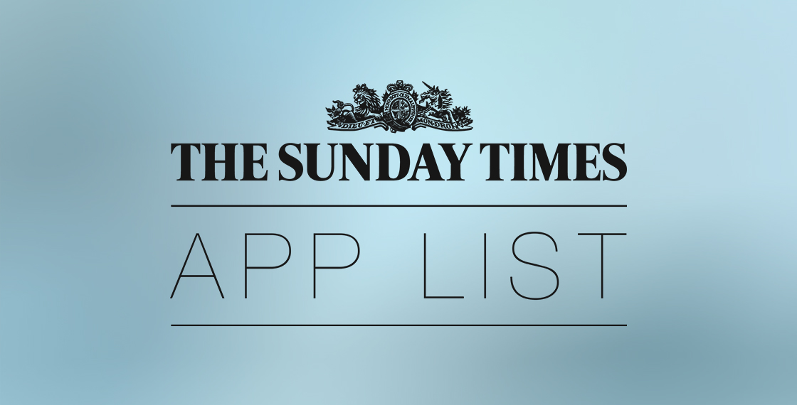 Sunday Times Mobile App List 2012