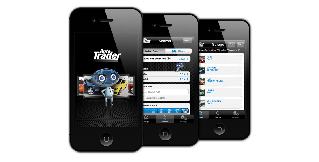 Auto Trader Mobile Application