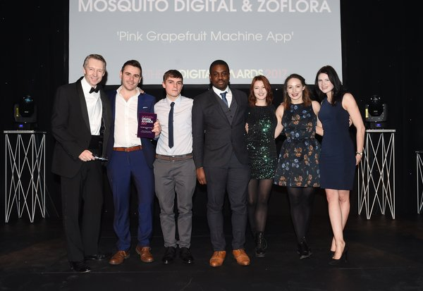 digitakl agency Mosquito win best digital marketing campaign - retail